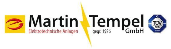 Martin Tempel GmbH - Elektrotechnische Anlagen